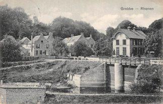 Ansichtkaart Rhenen Grebbe 1913 HC8426