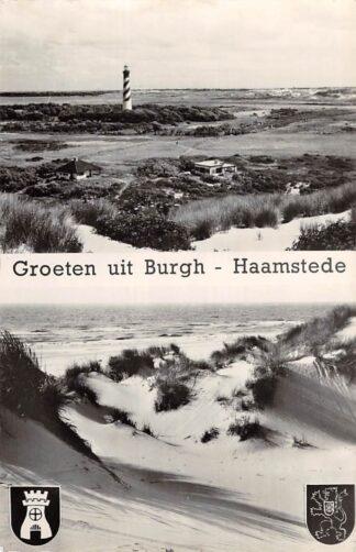 Ansichtkaart Burgh - Haamstede Groeten uit Vuurtoren Lighthouse 1963 HC8434