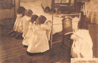 Ansichtkaart Fantasie Children prayer Kind 1908 HC8478