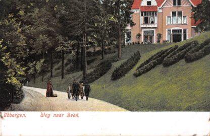 Ansichtkaart Ubbergen Weg naar Beek (GD) Paard en wagen HC8490