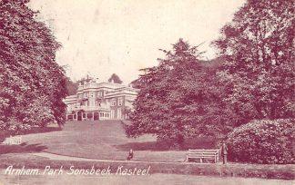 Ansichtkaart Arnhem Park Sonsbeek Kasteel 1907 HC8520
