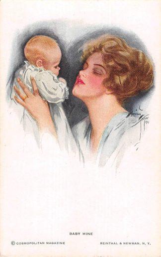 Ansichtkaart Fantasie Baby Mine Illustrator Harrison Fisher HC8522