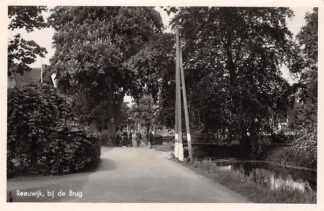 Ansichtkaart Reeuwijk Bij de Brug in 1941 HC8532