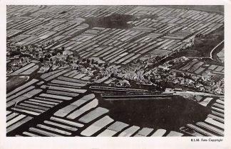 Ansichtkaart Broek op Langedijk (NH) KLM Luchtfoto 1948 HC8540