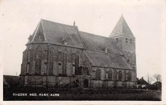 Ansichtkaart Rheden Fotokaart Ned. Herv. Kerk HC8543