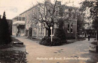 Ansichtkaart Groningen Medische afd. Acad. Ziekenhuis Newo fotokaart 1938 HC8558