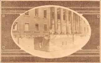 Ansichtkaart Groningen Ruine Academie na de brand 1 september 1903  HC8577