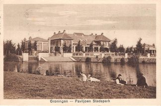 Ansichtkaart Groningen Paviljoen Stadspark HC8583