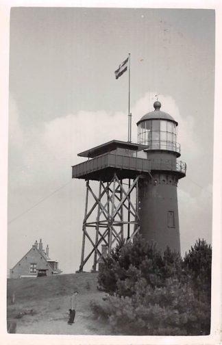 Ansichtkaart Vlieland Vuurtoren 1954 Type fotokaart HC8604