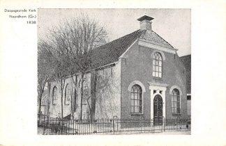 Ansichtkaart Noordhorn Doopsgezinde Kerk uit 1838 Groningen HC8615
