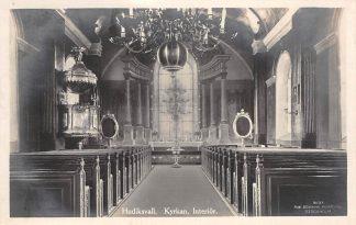 Ansichtkaart Zweden Hudiksvall Kyrkan Interior 1926 Kerk Type fotokaart Sverige Sweden Europa HC8619