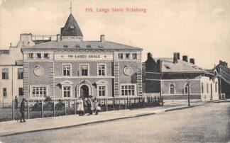Ansichtkaart Denemarken Silkeborg Frk. Langs Skole Silkeborg Danemark Danmark Europa HC8633