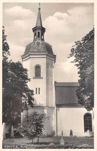 Ansichtkaart Zweden Norrtalje Kyrkan Sweden Sverige 1952 Europa HC8648