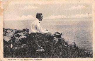 Ansichtkaart Wieringen Ex kroonprins Duitsland op Wieringen 1929 Deutschland HC8665