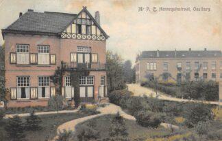 Ansichtkaart Oostburg Mr. P.C. Hennequinstraat 1910 HC8667