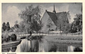Ansichtkaart Ede Beatrixpark met Kerk HC8678