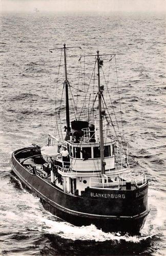 Ansichtkaart Rotterdam m.t. Blankenburg Zee sleepboot L. Smit & Co's Internationale Sleepdienst Schepen Scheepvaart HC8682