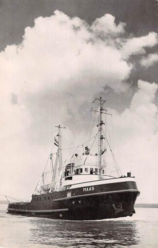 Ansichtkaart Rotterdam m.t. Maas Zee sleepboot L. Smit & Co's Internationale Sleepdienst Schepen Scheepvaart HC8683