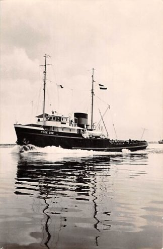 Ansichtkaart Rotterdam m.t. Rode Zee sleepboot L. Smit & Co's Internationale Sleepdienst Schepen Scheepvaart HC8684