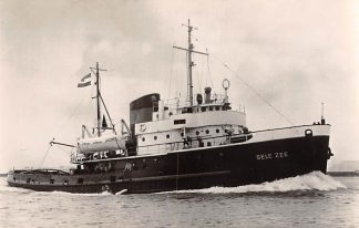 Ansichtkaart Rotterdam d.e.t. Gele Zee Zee Sleepboot L. Smit & Co's Internationale Sleepdienst Schepen Scheepvaart HC8692