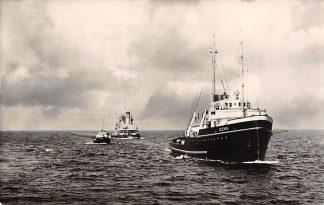Ansichtkaart Rotterdam m.t. Oceaan Zee sleepboot L. Smit & Co's Internationale Sleepdienst Schepen Scheepvaart HC8694