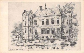 Ansichtkaart Vorden Kasteel Huis Vorden 1947 HC8714