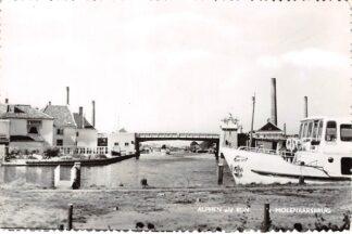Ansichtkaart Alphen aan den Rijn Molenaarsbrug met rondvaartboot Avifauna Schepen HC8734