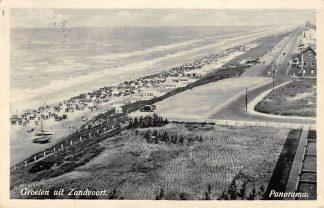 Ansichtkaart Zandvoort Groeten uit Panorama Strand en zee HC8755