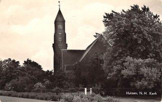 Ansichtkaart Huizen Nederlands Hervormde Kerk 1960 HC8758