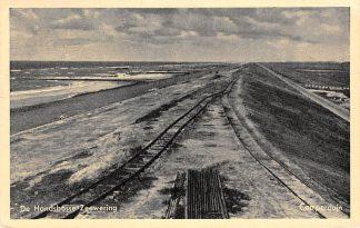 Ansichtkaart Camperduin Petten De Hondsbosse Zeewering met spoorlijn Schoorl Strand Zee HC8768