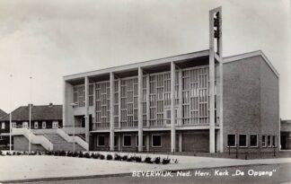 Ansichtkaart Beverwijk Ned. Hervormde Kerk De Opgang 1961 HC8775