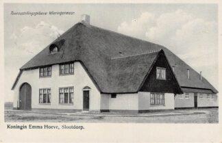 Ansichtkaart Slootdorp Koningin Emma Hoeve Tentoonstellingsgebouw Wieringermeer HC8781