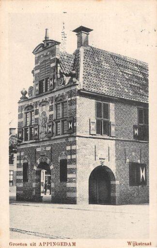 Ansichtkaart Appingedam Wijkstraat 1920 HC8809