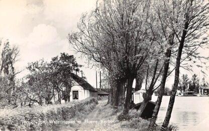 Ansichtkaart Woubrugge Weteringspad met Hoeve Verboom 1960 HC8842