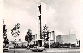 Ansichtkaart Alphen aan den Rijn R.K. Kerk Pius X Auto 1968 HC8879