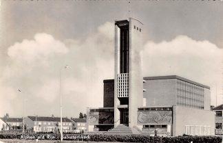Ansichtkaart Alphen aan den Rijn Salvatori-kerk Gereformeerde Kerk 1960 HC8883
