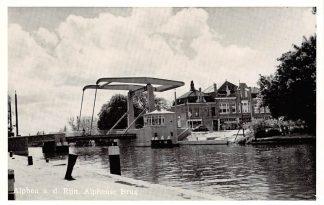 Ansichtkaart Alphen aan den Rijn Alphense Brug HC8889