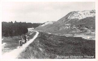 Ansichtkaart Vlieland Rijwielpad Uitkijkduin HC8892