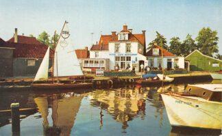 Ansichtkaart Terhorne Hotel Café Restaurant 't Schippershuis HC8893