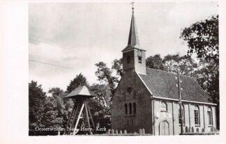 Ansichtkaart Oosterwolde Ned. Hervormde Kerk met begraafplaats HC8895