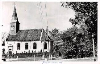 Ansichtkaart Ferwoude Ned. Hervormde Kerk met begraafplaats HC8902