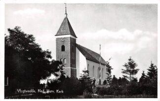Ansichtkaart Vlagtwedde Ned. Hervormde Kerk 1950 HC8906