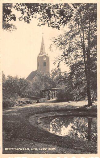 Ansichtkaart Beetsterzwaag Ned. Hervormde Kerk 1942 HC8924