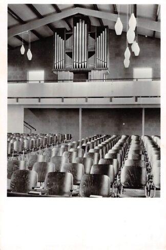 Ansichtkaart Zwaagwesteinde Orgel in de Ned. Hervormde Kerk met dispositie 1965 HC8929