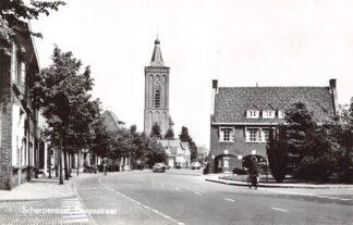 Ansichtkaart Scherpenzeel Dorpsstraat 1969 HC8953