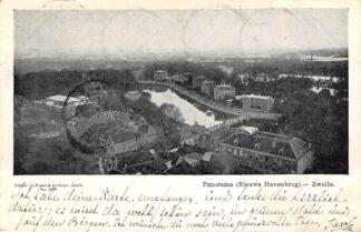 Ansichtkaart Zwolle Panorama Nieuwe Havenbrug 1904 Filatelie Postzegels HC8968