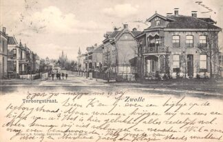Ansichtkaart Zwolle Terborgstraat 1903 HC8974