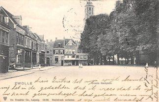 Ansichtkaart Zwolle Groote Kerkplein 1903 HC8976