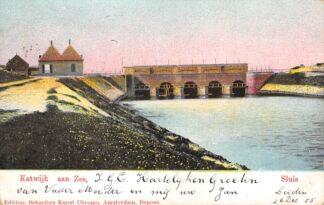 Ansichtkaart Katwijk aan Zee Sluis 1905 HC8981
