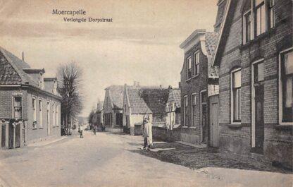 Ansichtkaart Moerkapelle Verlengde Dorpstraat HC8988